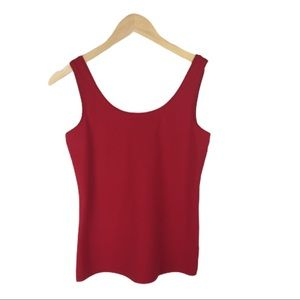 Talbots red tank top